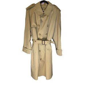 VINTAGE 1960's BROOKS BROTHERS MEN'S TRENCH COAT 44R
